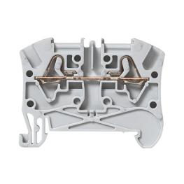 Borne Estandar 4mm Gris 2 Conductores Viking - Legrand