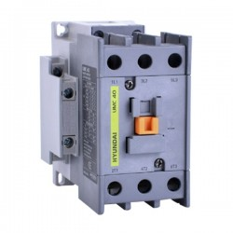 Contactor 3P 18A 10Hp 7.5Kw 24Vdc Hyundai