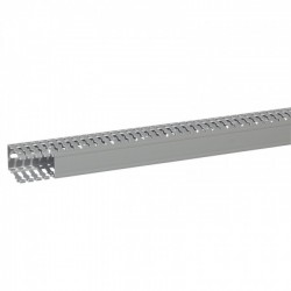 Canaleta PVC 80x60x2000mm Gris Ranurada - Legrand