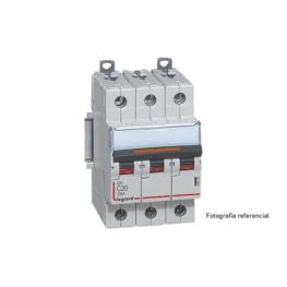 Interruptor Automatico 3P 20A C 10kA Lex³ Dx³ - Legrand