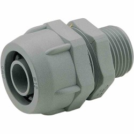 Conector Recto PVC 39-50,5mm Mf Gris 4 0-Iso40 - Legrand