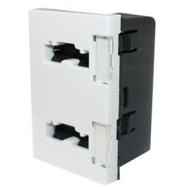 Modulo Enchufe 2 Modulos 2P+T 10/16A Seguridad  - Legrand