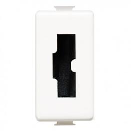 Modulo Enchufe 2P+T 10A 250V Seguridad Irreversible Blanco - Bticino