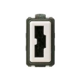 Modulo Enchufe 2P+T 10A 250V Seguridad Irreversible Marfil - Bticino