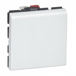Modulo Interruptor 9/12 10A 250V Simple 2 Puestos Mosaic - Legrand