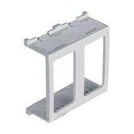 Adaptador 2 Modulos Blanco  Para Casquete  modulosip55 - Scame