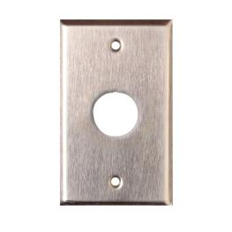 Face Plate 1 Posicion Metalico P/ 1 Modulo Rj45 Industrial - Siemon