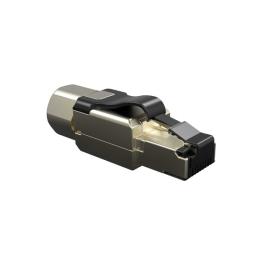 Conector Rj45 Macho De Campo Cat.6 Industrial Blindado T568A