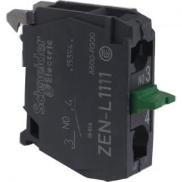 Bloque de contacto simple control para pulsador 22 mm - NA Schneider