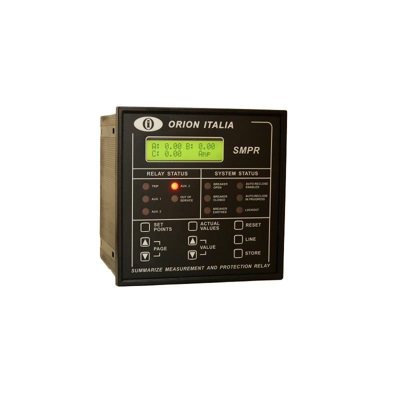 Rele de Proteccion Corriente Voltaje y Potencia 50/51/50N/51N/27/59/81/55