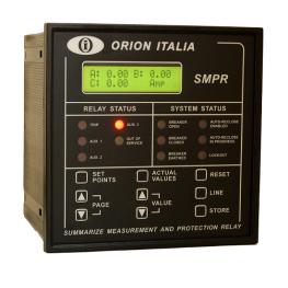 Rele de Proteccion Corriente Voltaje y Potencia 50/51/50N/51N/27/59/81/55 comunicación Ethernet