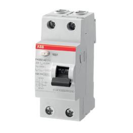 Interruptor Diferencial 2P 40A 30Ma Fh202 Ac40/0.03 - ABB