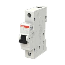Interruptor Automatico 1P 6A C 6kA Sh201S201 - ABB