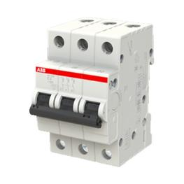 Interruptor Automatico Sh200 3P 6A Curva C 6.000A - ABB