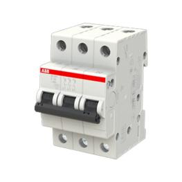 Interruptor Automatico Sh200 3P 25A Curva C 6.000A - ABB