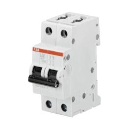 Interruptor Automatico 2P 2A D 10kA S202 - ABB