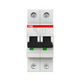 Interruptor Automatico S200 2P 10A Curva B 6.000/10kA - ABB