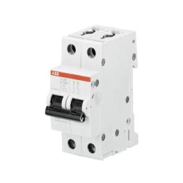 Interruptor Automatico 2P 25A K 10kA S202 - ABB