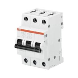 Interruptor Automatico 3P 2A Z 10kA S203 - ABB