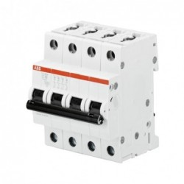 Interruptor Automatico 4P 50A C 10kA S204-C50 - ABB