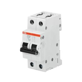 Interruptor Automatico 2P 16A C 15kA S202M - ABB