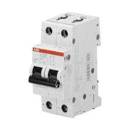 Interruptor Automatico 2P 2A K 10kA S202M-K2Uc - ABB