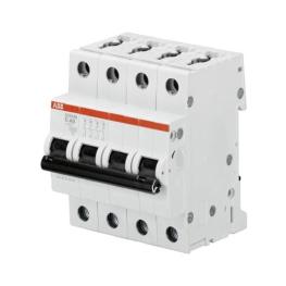 Interruptor Automatico 4P 16A C 10kA S204 - ABB