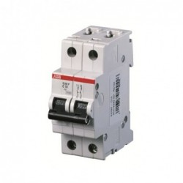 Interruptor Automatico 2P 10A C 25kA S202 - ABB