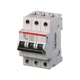 Interruptor Automatico 3P 25A C 25kA S203P - ABB