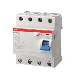 Interruptor Diferencial 4P 100A 300Ma F200 Ac - ABB