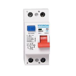 Interruptor Diferencial 2P 40A Hyundai