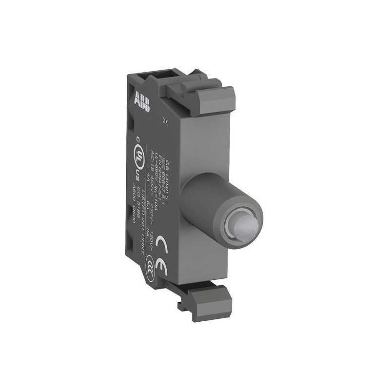 Block Lámpara Led Verde Mlbl-01G 24V A.C. / D.C. - Abb