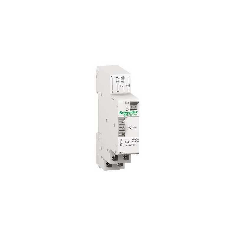 Interruptor horario electromecanico ajustable de 1 a 17 min. 220V  Schneider