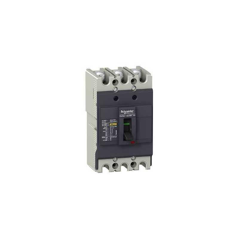 Interruptor fijo sin regulacion Easypact EZC100 75A 3P 18kA unidad TMD Schneider
