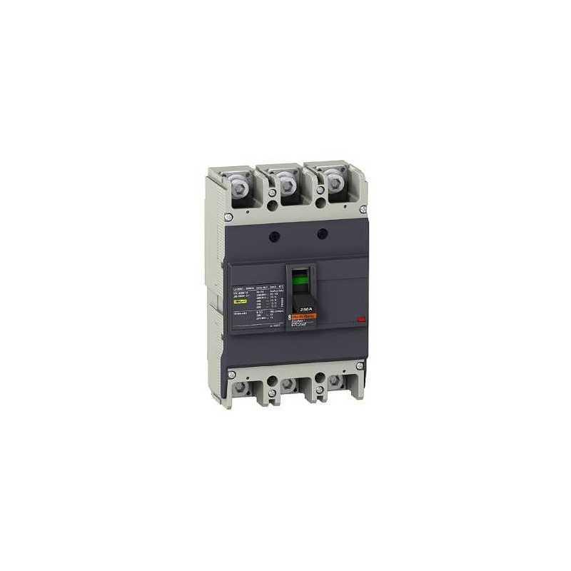 Interruptor fijo sin regulacion Easypact EZC250 125A 3P 18kA unidad TMD Schneider