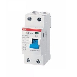 Interruptor Automatico F200 Ac 2X25A 30Ma - Abb