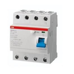 Interruptor Diferencial F200 Ac 4X100A 30Ma - Abb