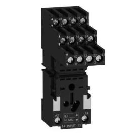 Base rele rum separador de contactos RXM4 10A - 250V  Schneider