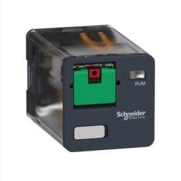 Rele universal automatico boton de test - 230V AC - 10A - 2C/O Schneider