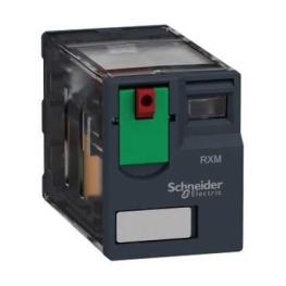 Rele miniatura - 230 V AC -  12 A - 2 C/O Schneider