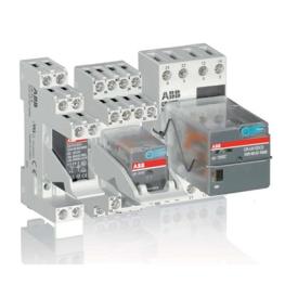 Relé Capsulado Cr-M230Ac4 Control: 230V A.C. - Abb