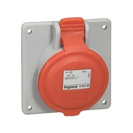 Enchufe Industrial P17/Toma Emb 3P+T 16A/380V Legrand
