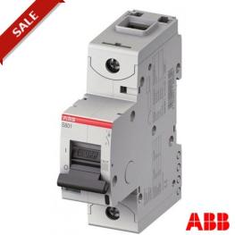 Interruptor Automatico 1P 100A C 15Ka S801C-C100 Abb