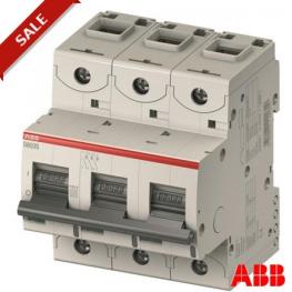 Interruptor Automatico 3P 100 C 10Ka S800C Abb
