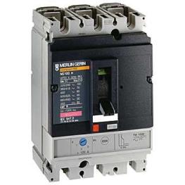 Interruptor Automatico 3P Regulable 40-50A 25Ka 380Vac Nr100F  Schneider