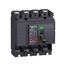 Interruptor Automatico 4P Fijo 250A 36Ka 380Vac Nsx250N  Schneider