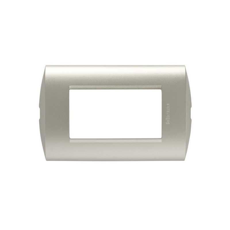 Placa 3 modulo Perla Bticino
