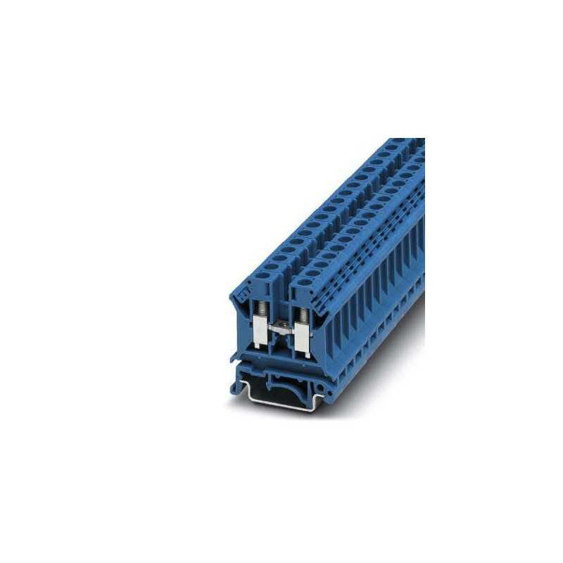 Borne Neutro 6Mm Azul Conexion Tornillo Uk 6N Bu