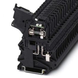 Borne Portafusible Ut Gris  4-Hesiled 24 (5X20) Gy 24V