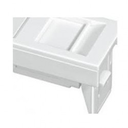 Adaptador De Faceplate Europeo 45x22.5mm Blanco - Furukawa